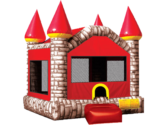 Camelot Castle Red